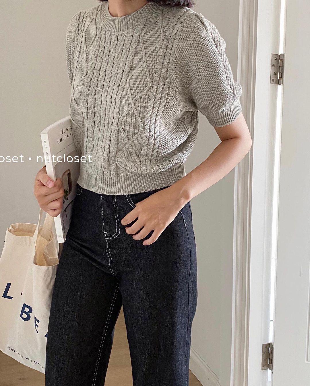 """Ngắm là muốn sắm luôn 10 mẫu áo len sang xịn, phối đồ nào cũng """"ăn rơ"""" - ảnh 20"""