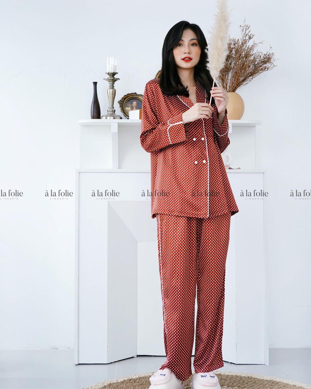 Chỉ từ 200k, chị em sắm được ngay pyjama dài tay ấm mà xinh - ảnh 13