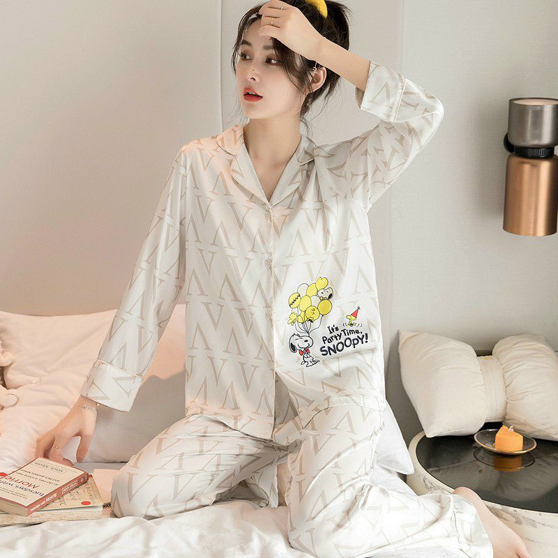 Chỉ từ 200k, chị em sắm được ngay pyjama dài tay ấm mà xinh - ảnh 28