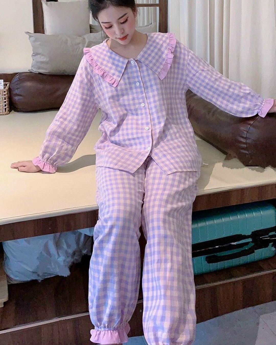 Chỉ từ 200k, chị em sắm được ngay pyjama dài tay ấm mà xinh - ảnh 19
