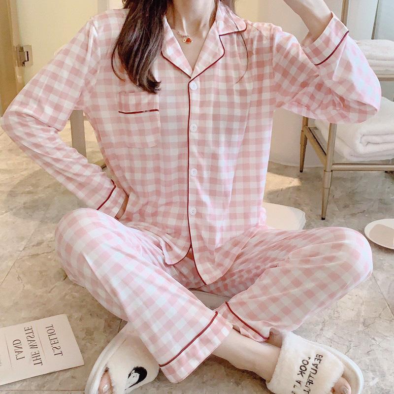 Chỉ từ 200k, chị em sắm được ngay pyjama dài tay ấm mà xinh - ảnh 1