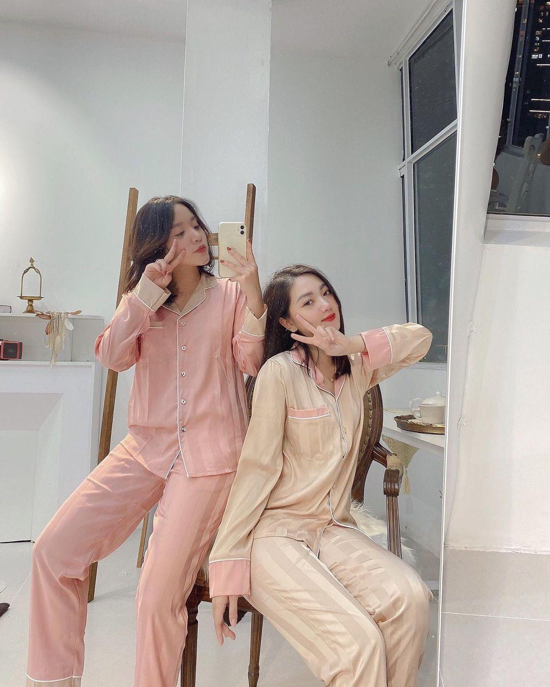Chỉ từ 200k, chị em sắm được ngay pyjama dài tay ấm mà xinh - ảnh 4