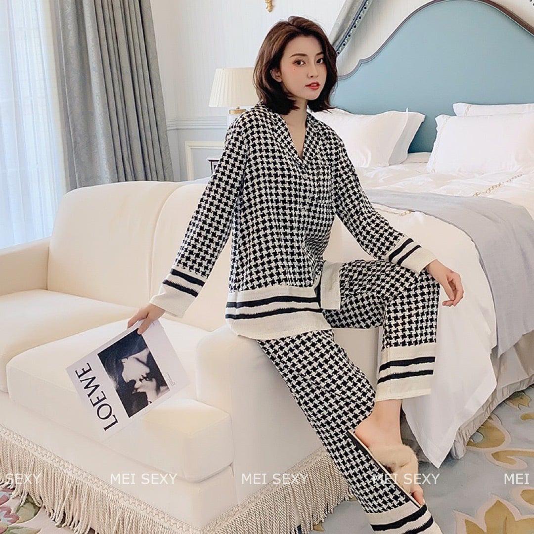 Chỉ từ 200k, chị em sắm được ngay pyjama dài tay ấm mà xinh - ảnh 10