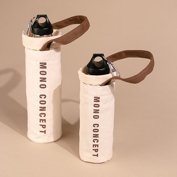Túi vải đựng bình nước dưới 160k kiêm luôn phụ kiện xinh xẻo - Ảnh 4.