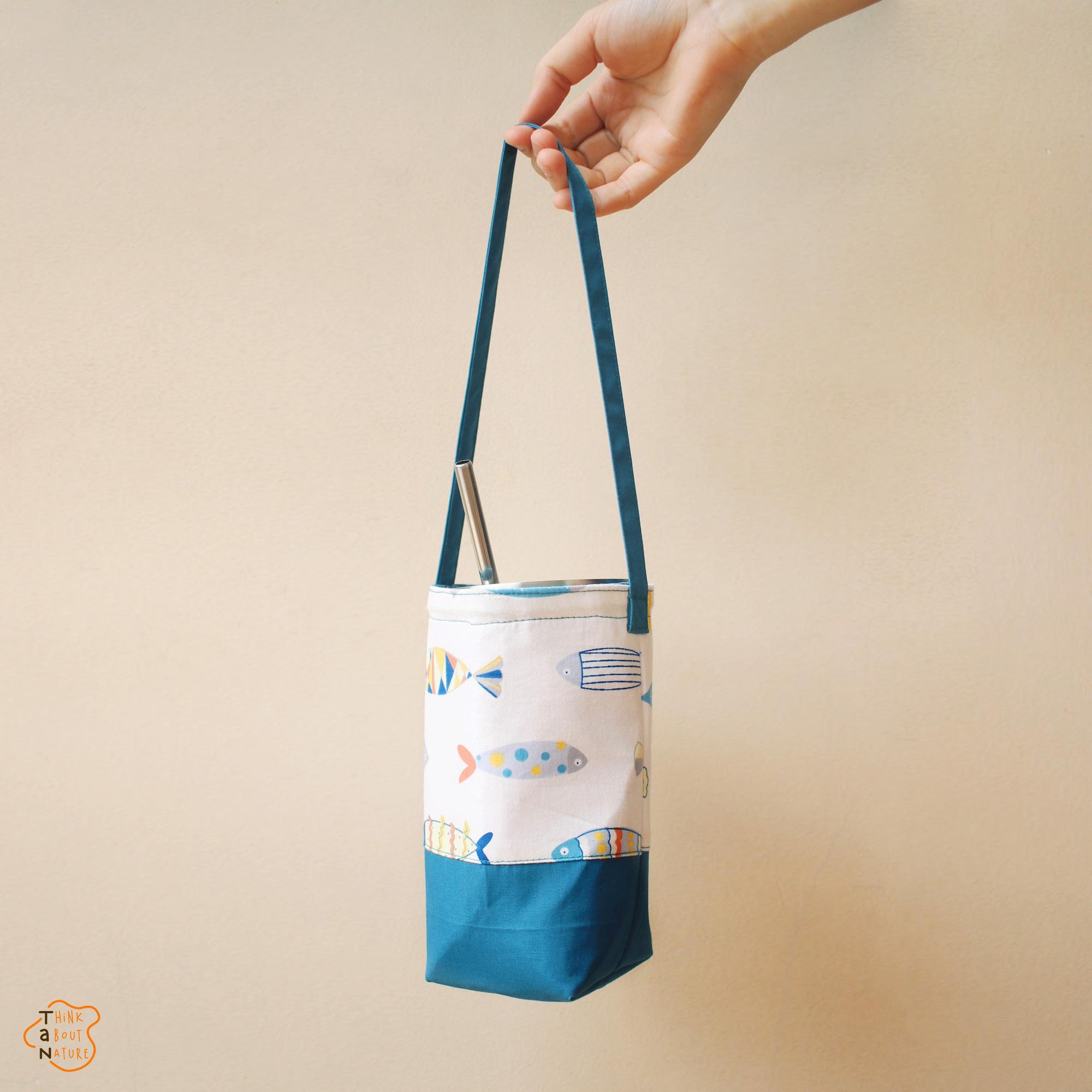 Túi vải đựng bình nước dưới 160k kiêm luôn phụ kiện xinh xẻo - Ảnh 6.