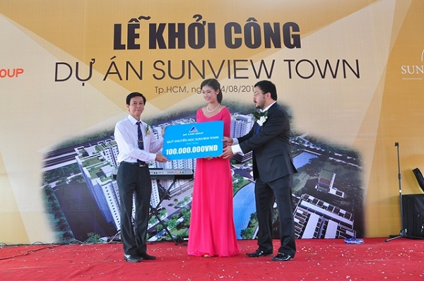 Đất Xanh đầu tư xây dựng khu phức hợp dân cư thương mại Sunview Town (1)