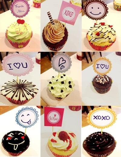Cupcake Outlet nay đã có mặt tại YOURS Café 1