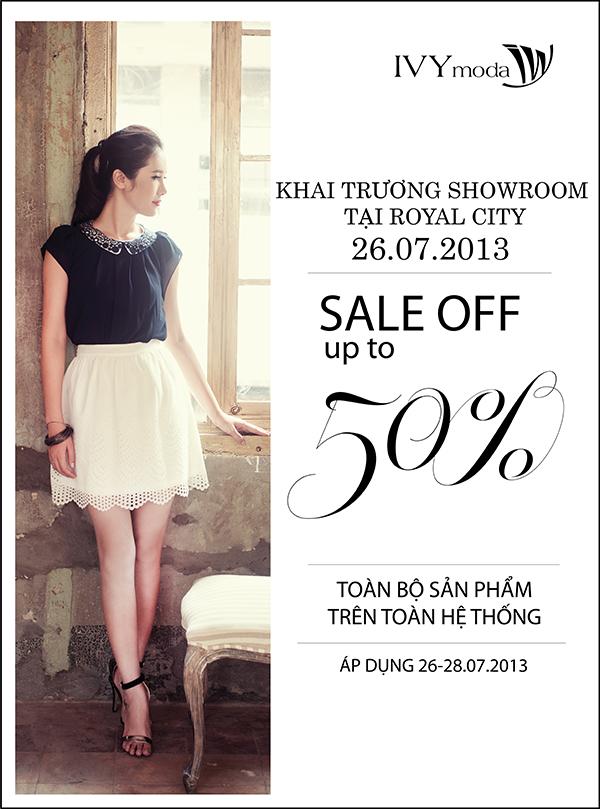 Khai trương showroom thứ 14, IVY moda sale off 30 - 50% 1