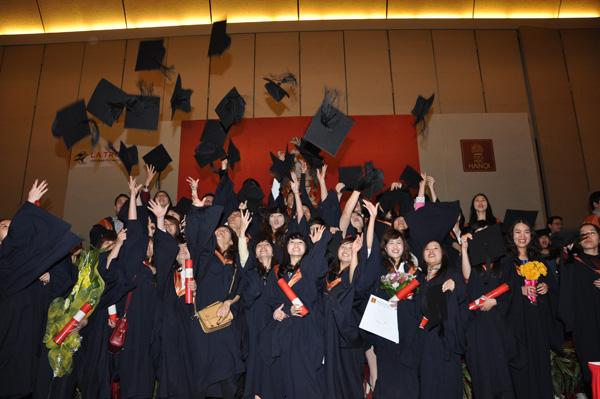 Lựa chọn khác cho HS tốt nghiệp THPT: Chương trình liên kết quốc tế 5