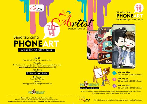 """Giới trẻ háo hức chờ đón cuộc thi """"Phone Art"""" 2"""