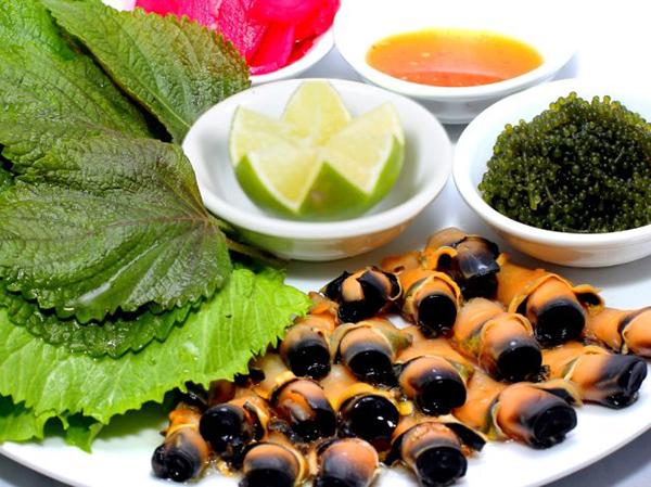 Món mới trung thu: Lườn cá bò gù nướng trà xanh