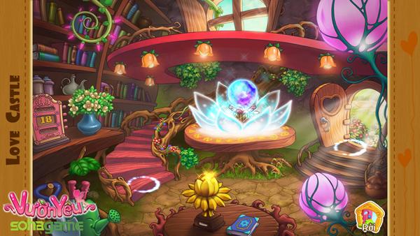 """Xiêu lòng về độ dễ thương của game """"Vườn Yêu"""" 4"""
