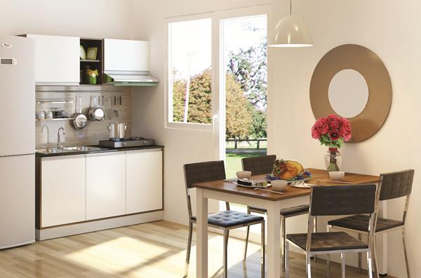 Ý tưởng hay cho không gian bếp nhỏ 1