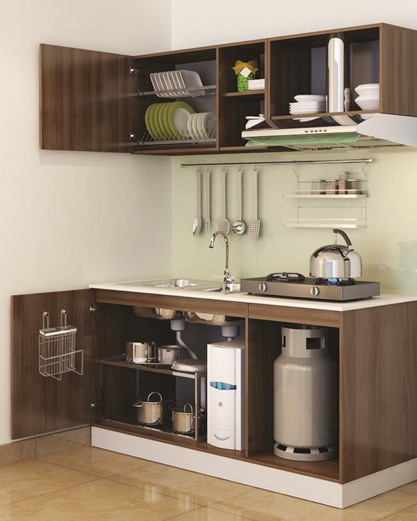 Ý tưởng hay cho không gian bếp nhỏ 3