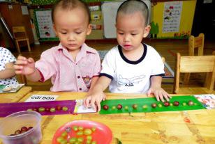 Hãy cho trẻ học bằng nhiều giác quan 3