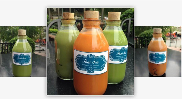 Trà sữa Thái lạ miệng