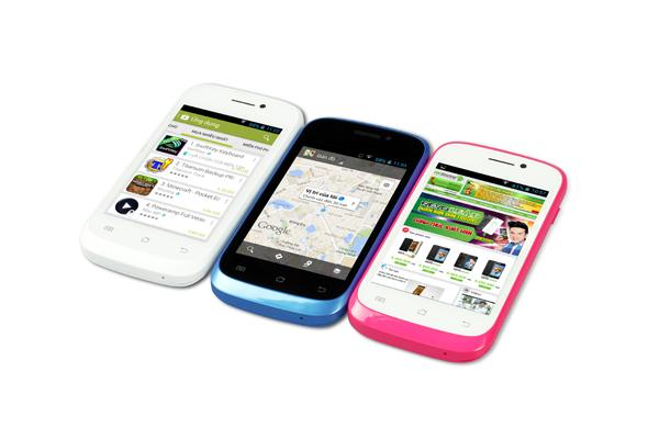Xuất hiện điện thoại lướt web cực nhanh giá rẻ