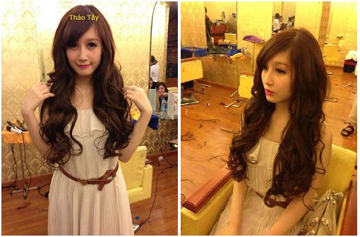 Bật mí những bí mật nối tóc của sao Việt 15