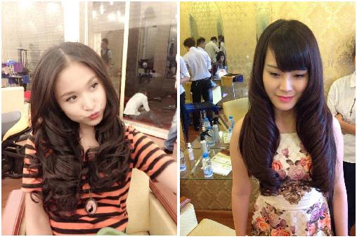 Bật mí những bí mật nối tóc của sao Việt 16