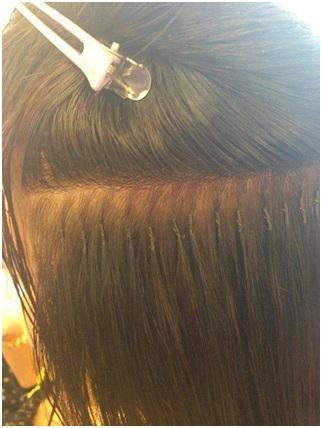 Bật mí những bí mật nối tóc của sao Việt 2