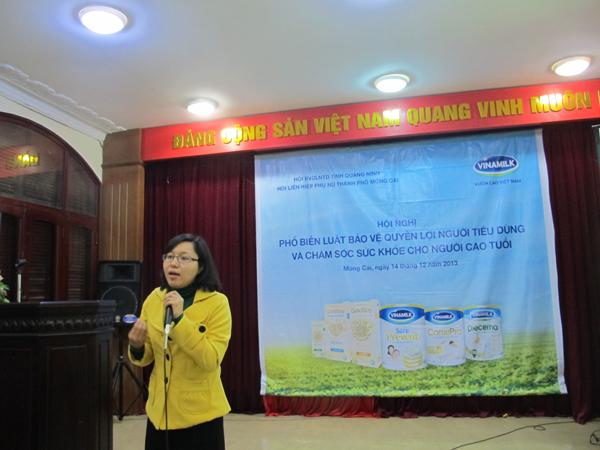 Vinamilk tư vấn chăm sóc sức khoẻ cho Người cao tuổi Móng Cái, Quảng Ninh