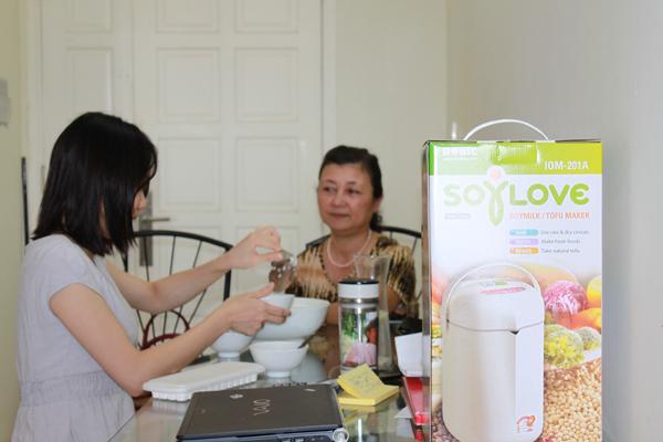Máy xay đậu nành SoyLove đa năng nấu cháo+tào phớ+đậu phụ+xay đậu nành