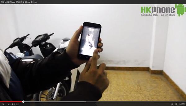HKPhone RACER ném vào tường vẫn... bình yên vô sự 2