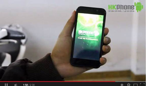 HKPhone RACER ném vào tường vẫn... bình yên vô sự 3