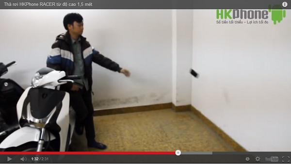HKPhone RACER ném vào tường vẫn... bình yên vô sự 4