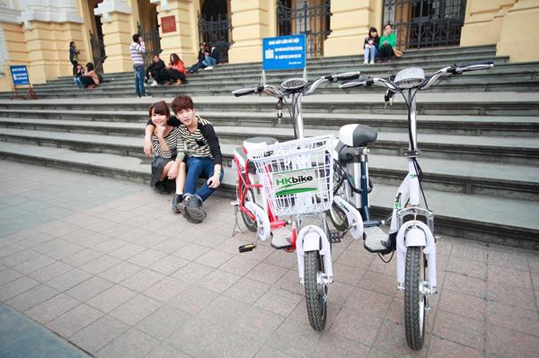 Tớ đã kết thân với xe đạp điện như thế nào? 1