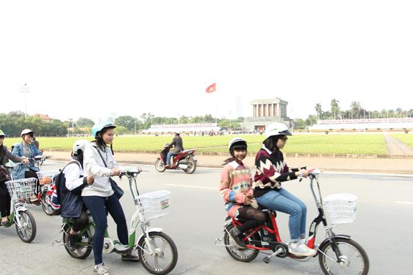 Tớ đã kết thân với xe đạp điện như thế nào? 3
