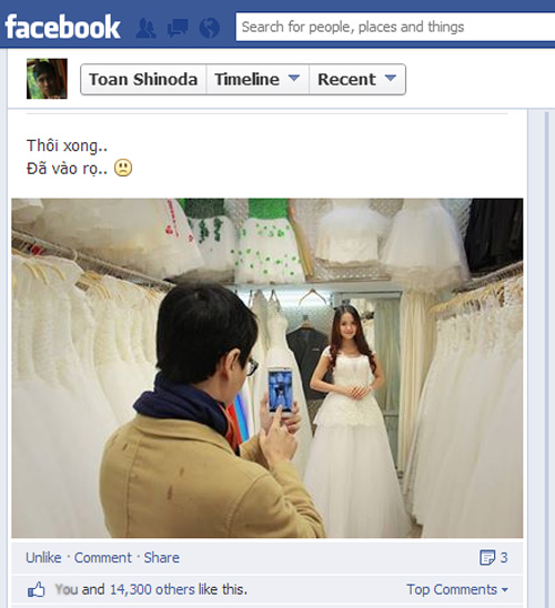 """""""Vén màn bí mật"""" chuyện chụp ảnh cưới của Toàn Shinoda 1"""