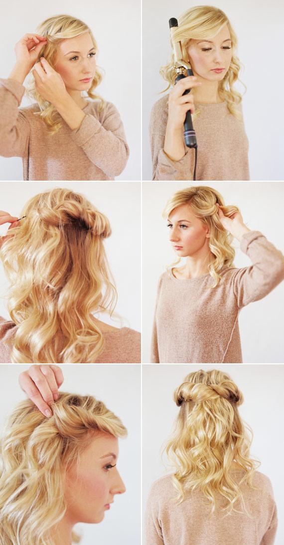 3 kiểu tóc tết cho các dịp lễ cuối năm 5