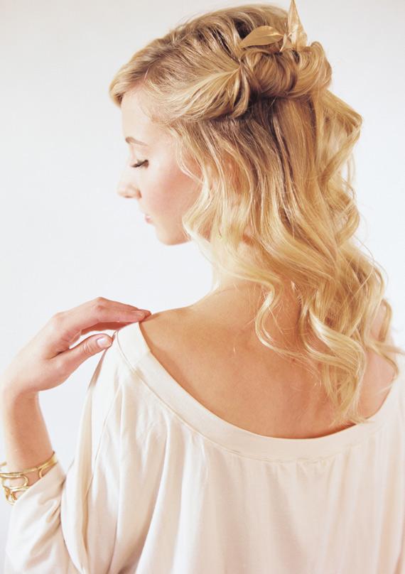 3 kiểu tóc tết cho các dịp lễ cuối năm 7