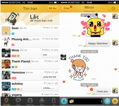 BEETALK - Ứng dụng trò chuyện trên ĐTDĐ ra mắt tại Việt Nam 2
