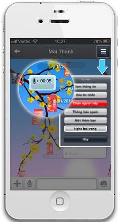 Zalo bổ sung hàng loạt tính năng mới cho iPhone 5