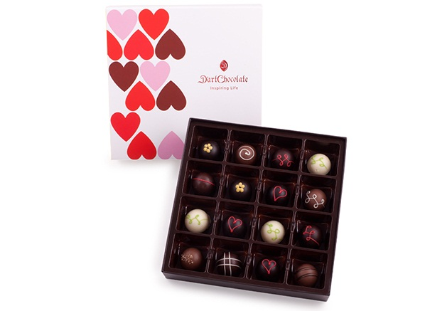 D'Art Chocolate ra mắt BST Chocolate Valentine 2013 - Kenh14.