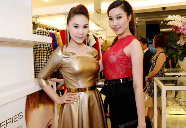 Người mẫu Quỳnh Thư hợp tác cùng Mr.Đàm 5