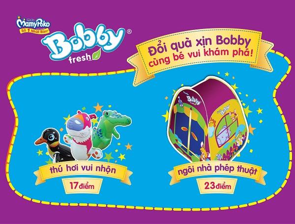 """Gia hạn chương trình """"Đổi quà xịn Bobby"""" 1"""
