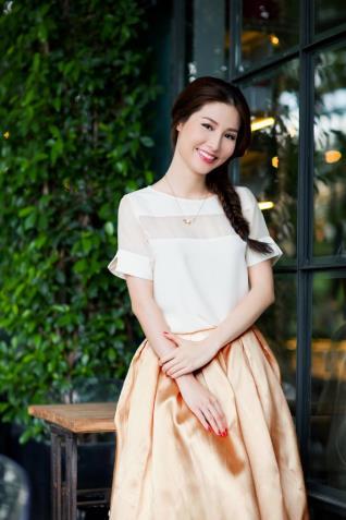 Hoa hậu Hương Giang yêu thích trào lưu sống nhẹ hoa hau huong giang yeu thich trao luu song nhe