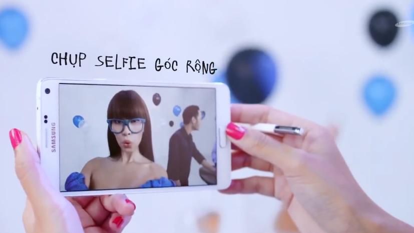 Cùng Hà Anh học bí kíp tiếp cận trai đẹp với Samsung Galaxy note 4 2
