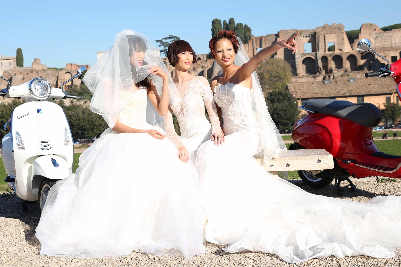 Top 5 Vietnam's Next Top Model 2014 bất ngờ hóa cô dâu chú rể 6