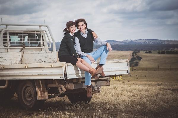 """Quán quân Mâu Thủy cùng Tấn Khang """"tình tứ"""" trong bộ ảnh thời trang ở Úc 4"""