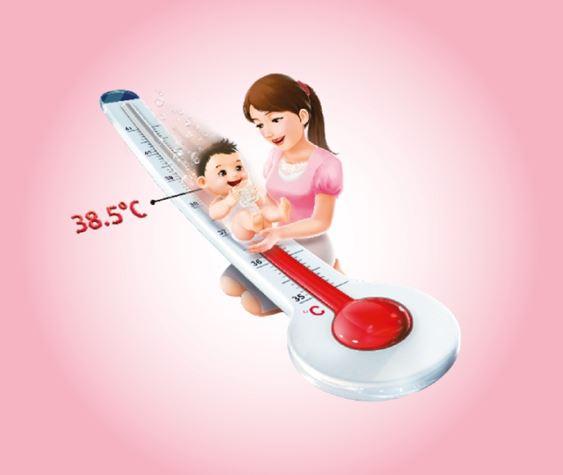 Cách hạ sốt nhanh cho trẻ mà vẫn an toàn 3