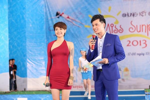 Minh Hằng làm giám khảo Miss Sunplay 2013 1