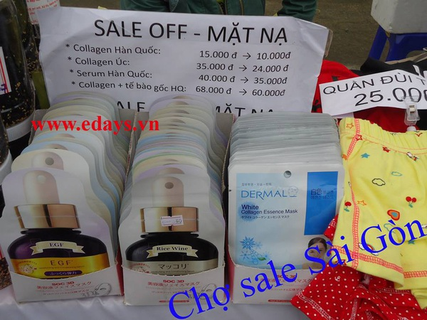Chợ Sale Sài Gòn – Đến mua và cảm nhận 6