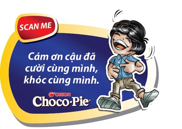 Gây ngạc nhiên cho người ấy bằng thông điệp 3D độc đáo của Chocopie 2