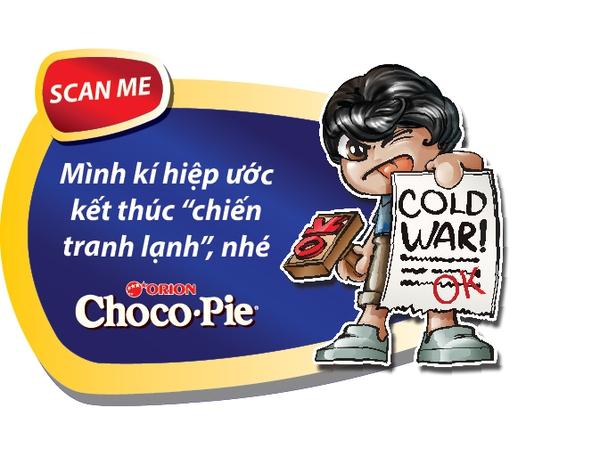 Gây ngạc nhiên cho người ấy bằng thông điệp 3D độc đáo của Chocopie 3