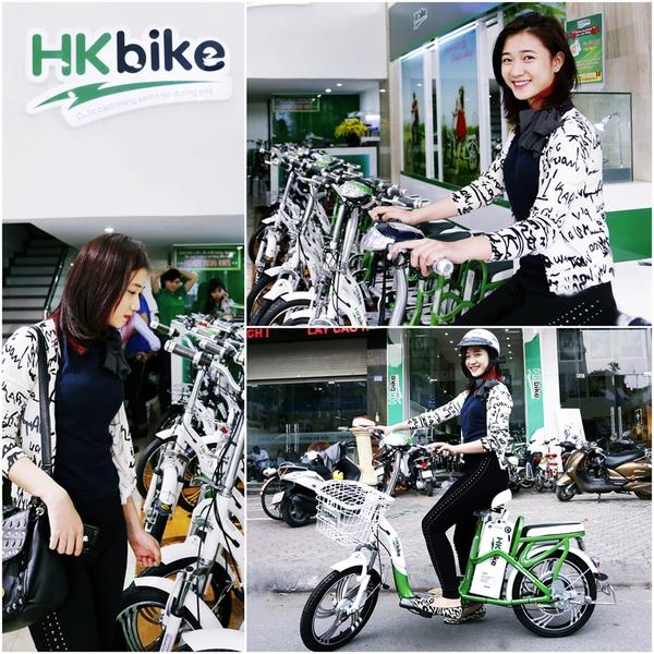 Hà Lade, Phở cùng dàn hot boy, hot girl cực chất bên xe đạp điện 4