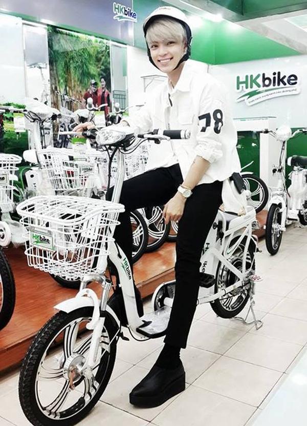 Hà Lade, Phở cùng dàn hot boy, hot girl cực chất bên xe đạp điện 7